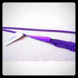 Kendra Scott Purple Phara Lariat Necklace